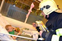 Návštěva Dětské nemocnice Brno
