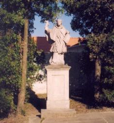 Socha sv.Jana Nepomuckého
