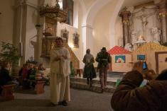 Mikuláš v kostele